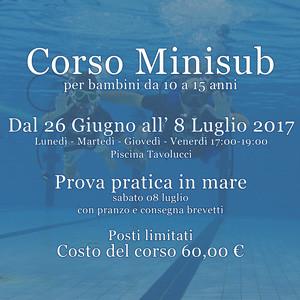 Corso Minisub 2017