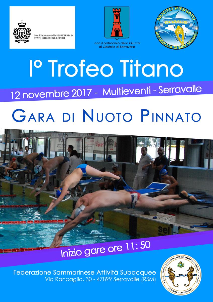 Volantino Gara Nuoto Pinnato 2