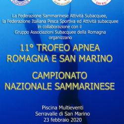 11° Trofeo Apnea Romagna E San Marino – Campionato Nazionale Sammarinese